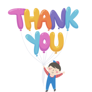 Thank you illustration